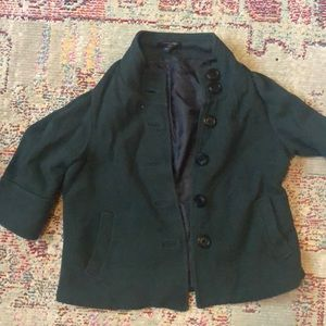 Banana republic lightly worn forest green blazer